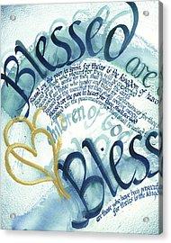 Blessed Acrylic Print by Amanda Patrick