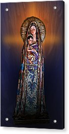Blessed Be Acrylic Print by Xueling Zou