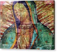 Blessed Lady Acrylic Print by Patricia Januszkiewicz
