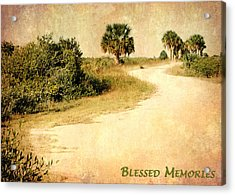 Blessed Memories Acrylic Print by Dawn Currie
