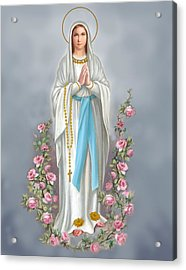 Blessed Virgin Acrylic Print