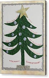 Blessing Tree Acrylic Print by Terri Harper