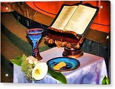 Blessings-benediciones Acrylic Print by Eleanor Abramson