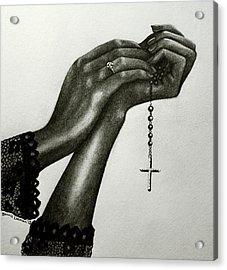 Blessings Acrylic Print by Bonnie Leeman