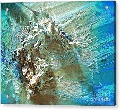 Bleu Comme Le Danube Acrylic Print