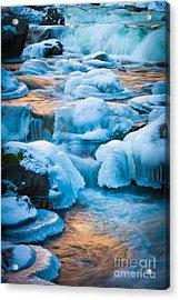 Blewett Pass Creek Acrylic Print by Inge Johnsson