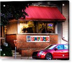 Blimpy Burger Acrylic Print