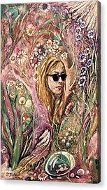 Blind Beauty Acrylic Print