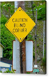 Blind Corner Acrylic Print