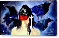 Blind Crows... Acrylic Print by Will Bullas