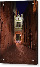 Blind Donkey Alley Acrylic Print by Adam Romanowicz