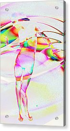 Blinded By The Light Acrylic Print by Kiki Art
