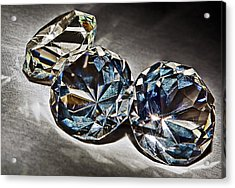 Bling Acrylic Print by Marcia Colelli