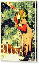Bliss Acrylic Print by Currie Silver