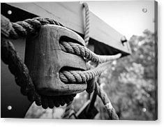 Block And Tackle Acrylic Print by Michael Donahue