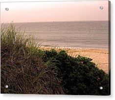 Acrylic Print featuring the photograph Block Island Beach by Dawn Romine