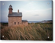 Block Island North West Lighthouse Acrylic Print by Skip Willits