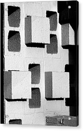 Blocks Acrylic Print
