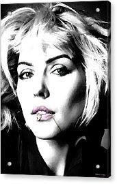 Blondie Large Size Portrait Acrylic Print