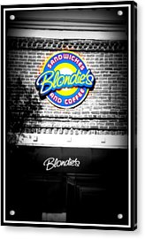 Blondies Acrylic Print by Shannon Wall