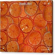 Blood Orange Acrylic Print