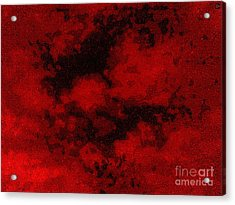 Acrylic Print featuring the photograph Blood Sky by Andy Heavens