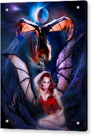 Blood Wings Acrylic Print