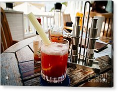 Bloody Mary Acrylic Print by Dean Harte