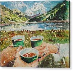 Bloody Mary Mountain Morning Acrylic Print