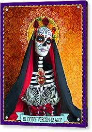 Bloody Virgin Mary Acrylic Print by Tammy Wetzel