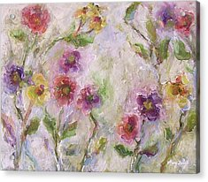 Bloom Acrylic Print by Mary Wolf