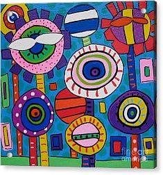 Bloom Acrylic Print by Susan Sorrell