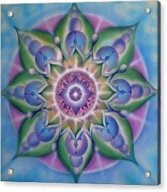 Blooming Acrylic Print by Elizabeth Zaikowski