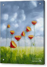 Blooming Summer Acrylic Print