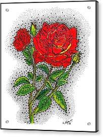 Blooming Too Acrylic Print