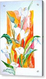 Blooms Beyond Borders Acrylic Print by Debi Starr