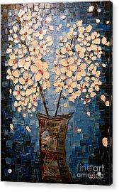 Blossom Bouquet Acrylic Print by Alexandru Rusu