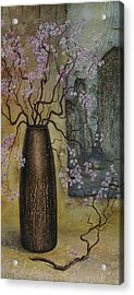 Blossom Acrylic Print by Vrindavan Das