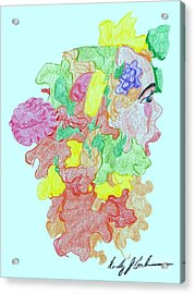 Blossom Acrylic Print by Wendy Coulson