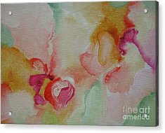 Acrylic Print featuring the painting Blossoming 110 by Elis Cooke