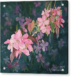 Blossoms For Sally Acrylic Print