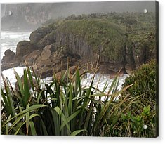 Blow Hole Acrylic Print by Ron Torborg