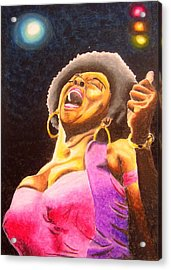 Blow Sister Blow Acrylic Print by William Bryant