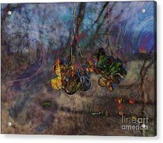 Acrylic Print featuring the photograph Blowin'in The Wind by Kathie Chicoine