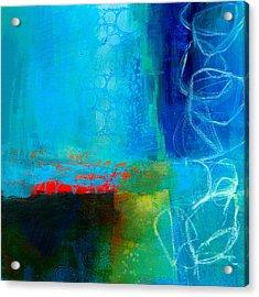 Blue #2 Acrylic Print by Jane Davies