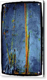 Acrylic Print featuring the photograph Blue Abstract Seven by Craig Perry-Ollila