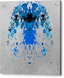 Blue Alien Acrylic Print