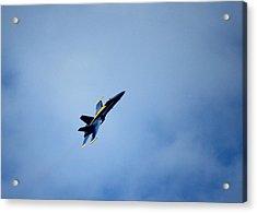 Blue Angel Acrylic Print by Saya Studios