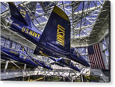 Blue Angels 2 Acrylic Print