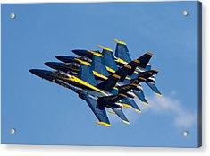 Blue Angels Echelon Acrylic Print